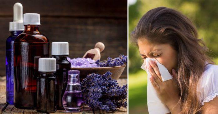 Аллергическая реакция на эфирное масло