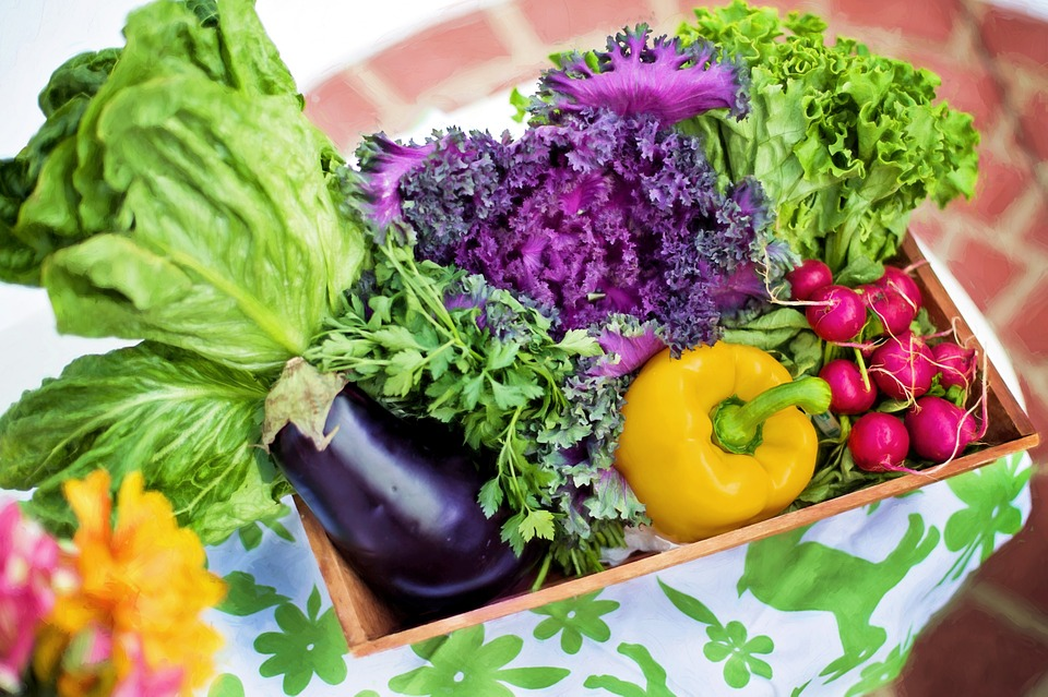 Сырые овощи для энергии и тонуса